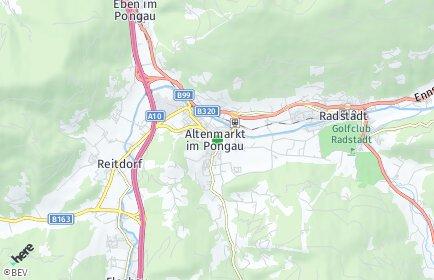 Stadtplan Altenmarkt im Pongau
