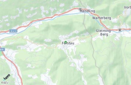 Stadtplan Forstau
