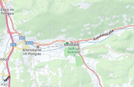 Stadtplan Radstadt