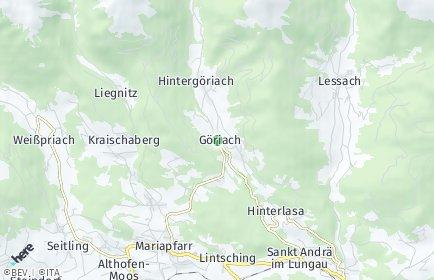 Stadtplan Göriach