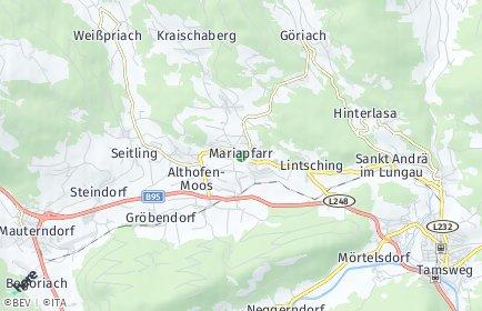 Stadtplan Mariapfarr
