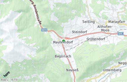 Stadtplan Mauterndorf