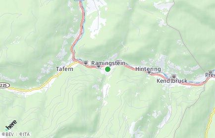 Stadtplan Ramingstein