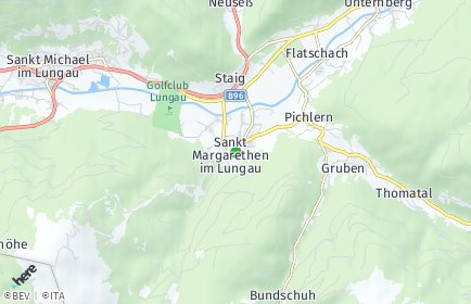 Stadtplan Sankt Margarethen im Lungau