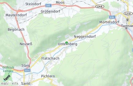 Stadtplan Unternberg