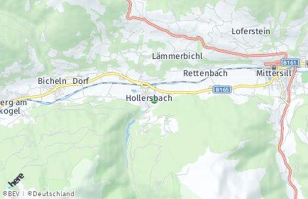 Stadtplan Hollersbach im Pinzgau
