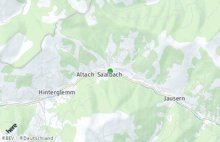 Stadtplan Saalbach-Hinterglemm