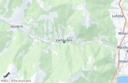 Stadtplan Viehhofen