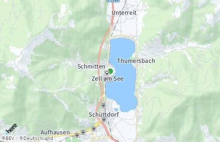 Stadtplan Zell am See OT Schmitten