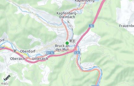 Stadtplan Bruck-Mürzzuschlag