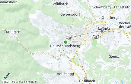 Stadtplan Deutschlandsberg