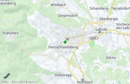 Stadtplan Deutschlandsberg OT Freiland bei Deutschlandsberg