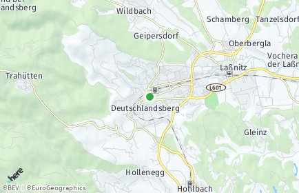 Stadtplan Deutschlandsberg OT Mitteregg