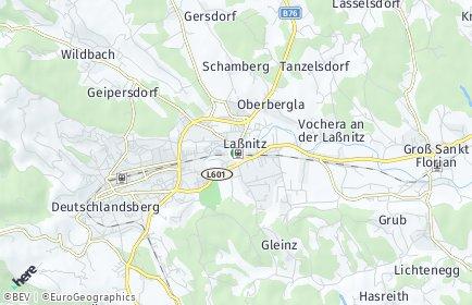 Stadtplan Frauental an der Laßnitz