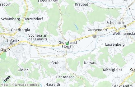 Stadtplan Groß Sankt Florian