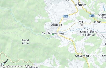 Stadtplan Schwanberg