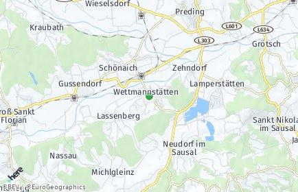 Stadtplan Wettmannstätten