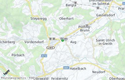 Stadtplan Wies OT Limberg