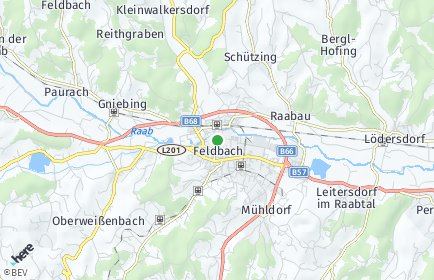 Stadtplan Südoststeiermark