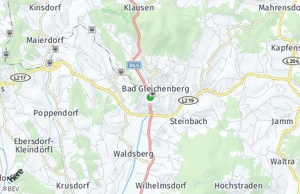 Stadtplan Bad Gleichenberg