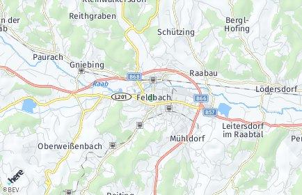 Stadtplan Feldbach OT Höflach