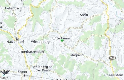 Stadtplan Unterlamm