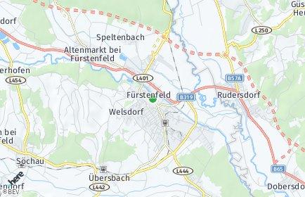 Stadtplan Fürstenfeld OT Hartl bei Fürstenfeld