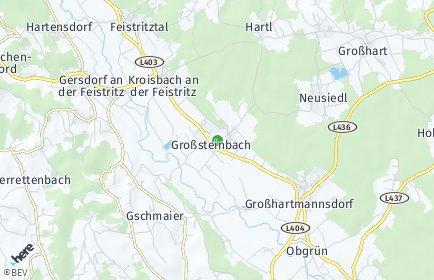 Stadtplan Großsteinbach