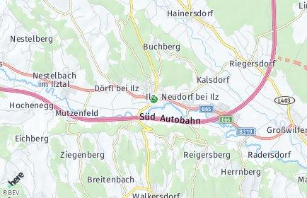 Stadtplan Ilz