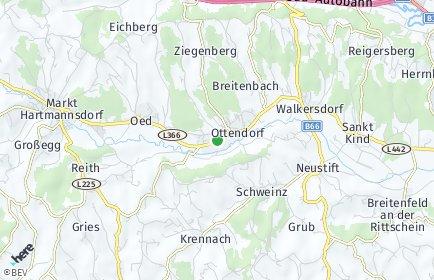 Stadtplan Ottendorf an der Rittschein