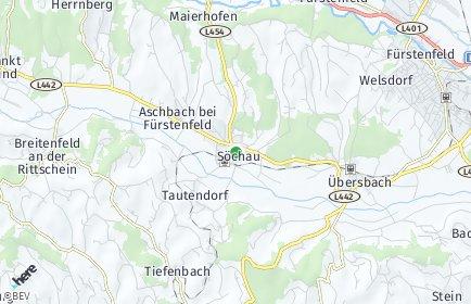 Stadtplan Söchau
