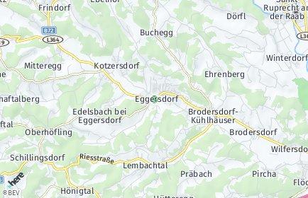 Stadtplan Eggersdorf bei Graz