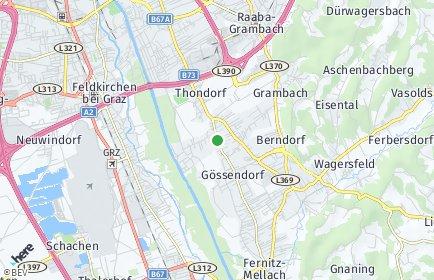 Stadtplan Gössendorf