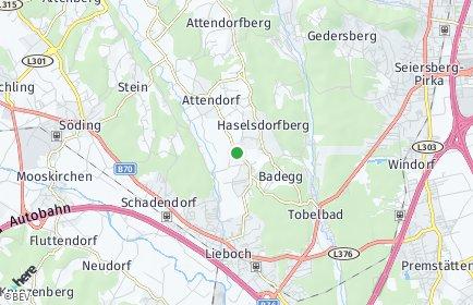 Stadtplan Haselsdorf-Tobelbad