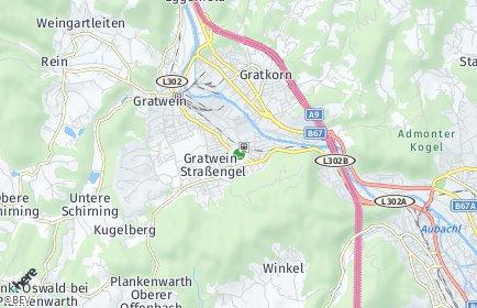 Stadtplan Gratwein-Straßengel OT Eisbach