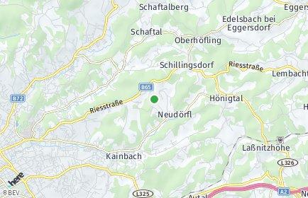 Stadtplan Kainbach bei Graz