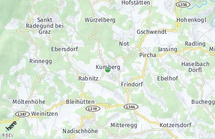Stadtplan Kumberg