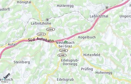 Stadtplan Nestelbach bei Graz