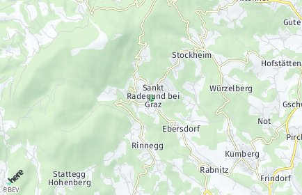 Stadtplan Sankt Radegund bei Graz
