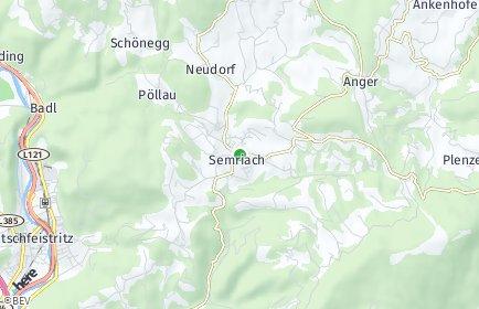 Stadtplan Semriach