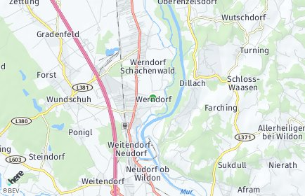 Stadtplan Werndorf