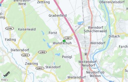 Stadtplan Wundschuh
