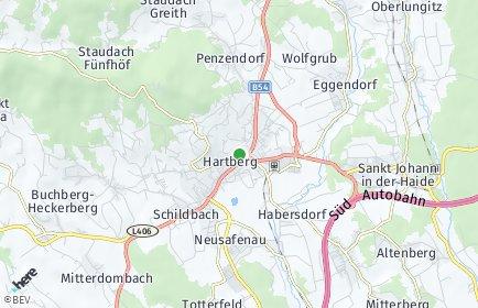 Stadtplan Hartberg-Fürstenfeld