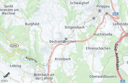 Stadtplan Dechantskirchen