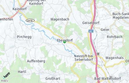 Stadtplan Ebersdorf