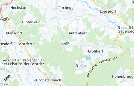 Stadtplan Hartl