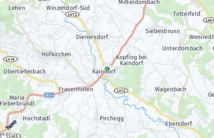 Stadtplan Kaindorf (Steiermark)