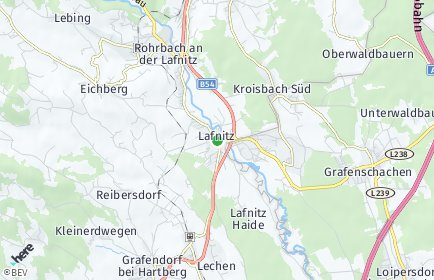 Stadtplan Lafnitz
