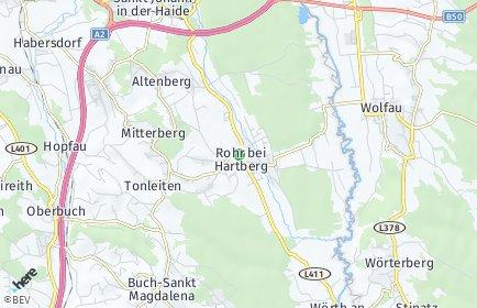 Stadtplan Rohr bei Hartberg