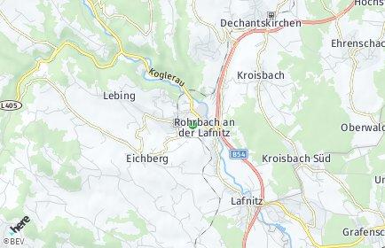 Stadtplan Rohrbach an der Lafnitz
